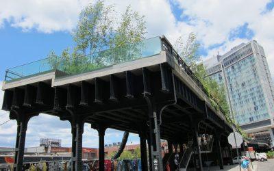 HIGH LINE New York EINST OASE, JETZT THEMENPARK