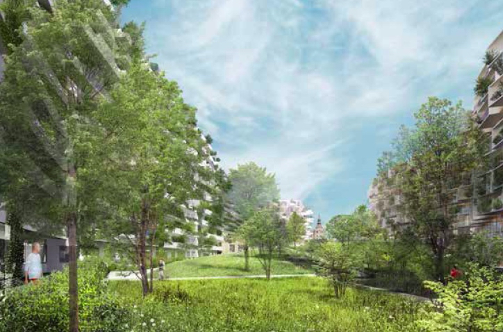 A BIOTOPE-CITY-QUARTIER FOR VIENNA