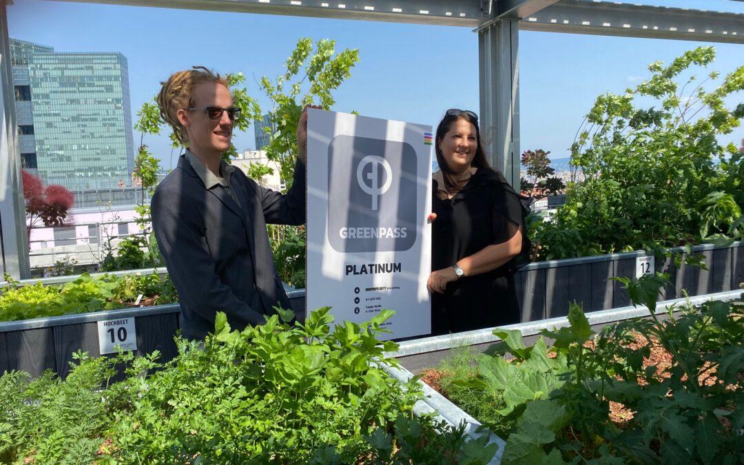 GREENPASS-Zertifizierung für die Biotope City Wienerberg